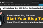 Free WordPress Installation, My Free WordPress Installation